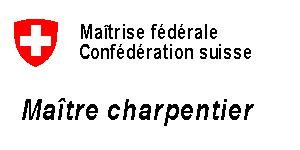 Maîtrise fédérale de charpentier